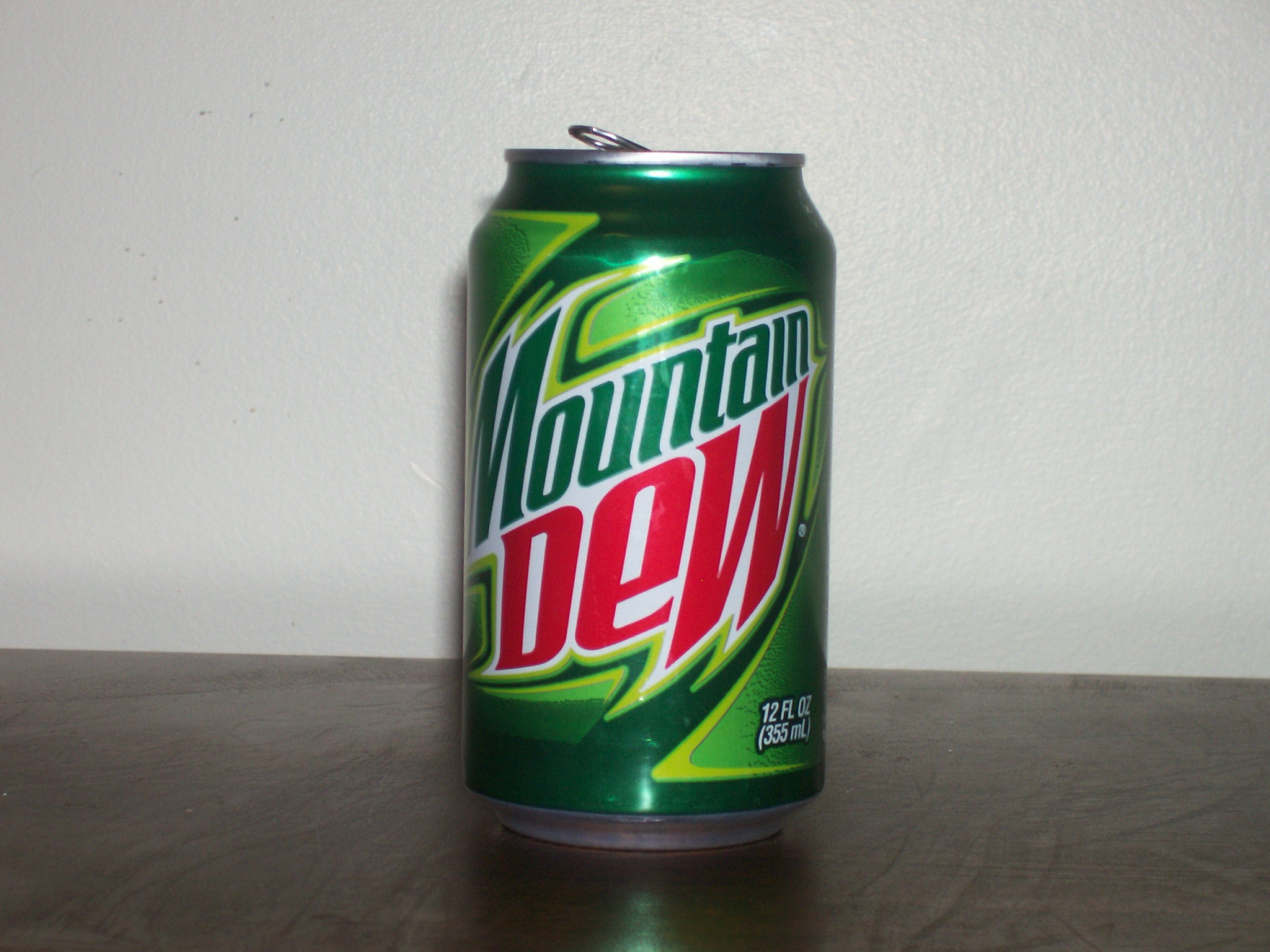 of Diet Mountain Dew I